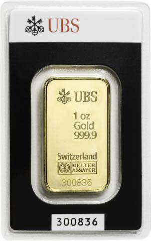 1 Oz Ubs Gold Bar For Sale At Goldsilver 174