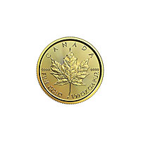1/10 oz Canadian Gold Maple Leaf (2017)