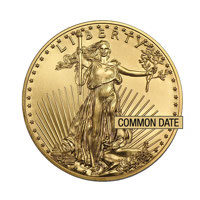 1/2 oz American Eagle Gold Coin (Common Date)