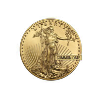 1/4 oz American Gold Eagle Coin (Common Date)