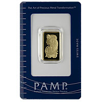 10 g PAMP Gold Bar - Suisse Lady Fortuna