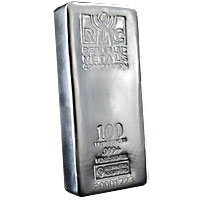 100 oz RMC Silver Bar