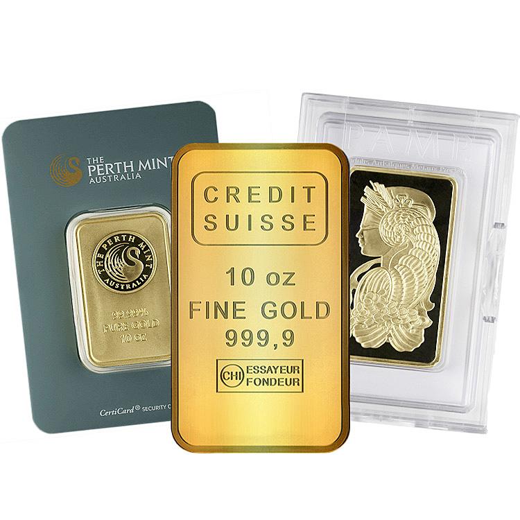 10 Oz Gold Bars For Online