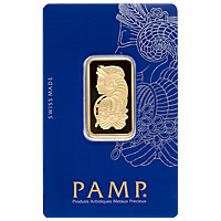 20 g PAMP Gold Bar - Suisse Lady Fortuna
