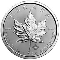 2016 1 oz Silver Canadian Maple Leaf