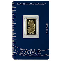5 g PAMP Gold Bar - Suisse Lady Fortuna
