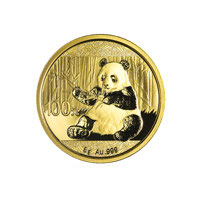 8 gram Chinese Gold Panda Coin (2017)