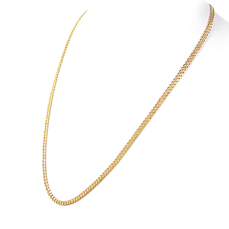 goldsilver borders feat necklace chains online at jewelry com rio buy without length gold