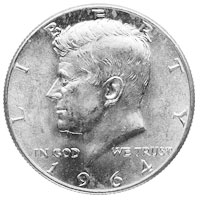 $1.00 Face Value Kennedy Half Dollars
