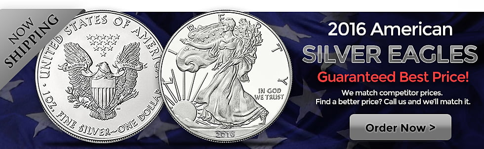 Silver Eagles - 2016 In Stock
