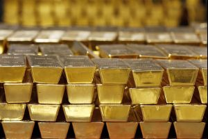 russian gold - central bank's reserves rise