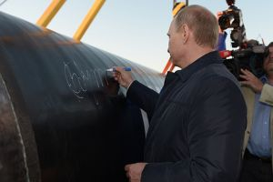 putin breaks ground on russia-china gas pipeline, world's biggest