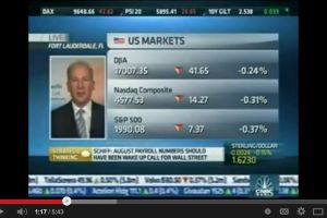 peter schiff - fantasy about us recovery is not going to materialize