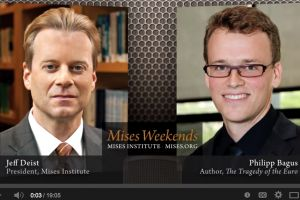 dr. philipp bagus - the tragedy of the euro - mises