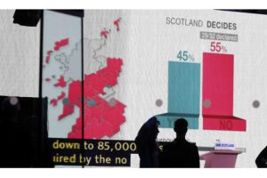 scotland rejects independence from britain in historic vote