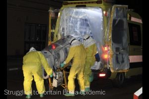 cdc - ebola could infect 1.4 million in west africa by end of january if trends continue