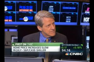 robert shiller - housing shows signs of weakness