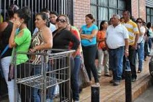 new cars for the army as venezuelans line up for food