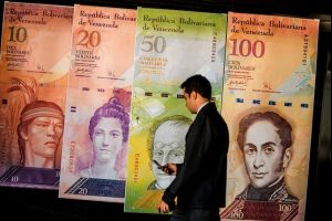 venezuela's currency hits new low
