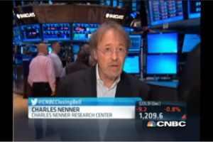 charles nenner - were out of the stock market and moving cash to gold