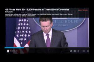 us visas held by 13,500 people in three ebola countries
