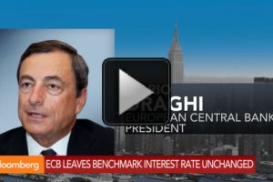 ecb keeps rates on hold as focus shifts to asset buying