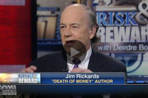 inflation-deflation tug-of-war means more qe - jim rickards