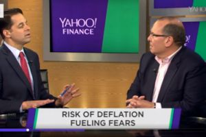 'deflationary pressure is bearing down' on global economy