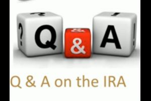 Q & A's on the IRA