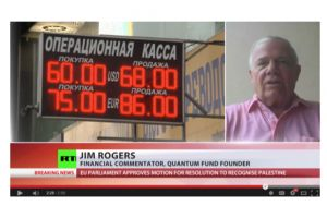 jim rogers on ruble - russian central bank handling it the right way
