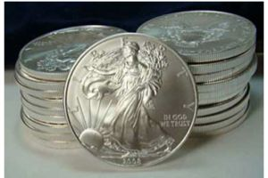 u.s. mint silver-coin sales rise from year ago on europe concern