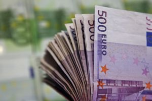 record deflation in eurozone