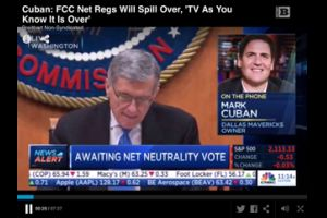 mark cuban: fcc net regs will spill over, �tv as you know it is over�