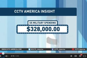 the u.s. spends $1million dollars a minute on the military industrial complex