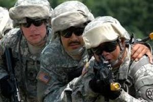 pentagon downplays 'troop training' in towns