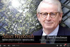 david stockman - against crony capitalism
