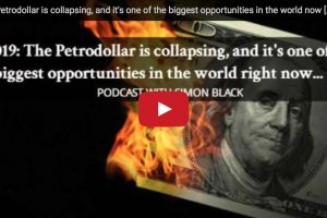 the petrodollar is collapsing, and it�s one of the biggest opportunities in the world now