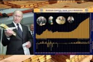 russia boosting gold holdings as defense against 'political risks'
