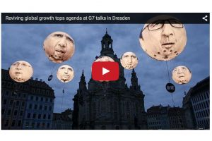 reviving global growth tops agenda at g7 talks in dresden
