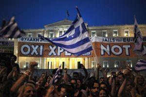 greek referendum in vote on grexit