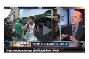 jim rickards - greek exit from eu not an inevitability?