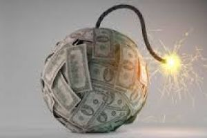 the fuse on the global debt bomb has been lit