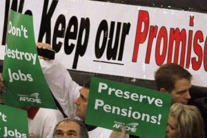 pensions at risk - states face shaky financial futures