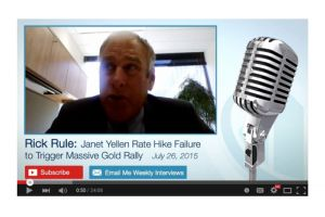 rick rule - janet yellen rate hike failure to trigger massive gold rally