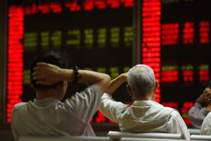 as china�s state funds buy stocks, individual investors cash out