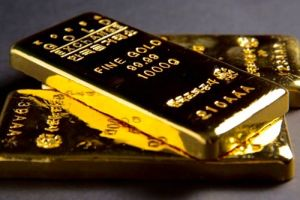 gold up on softer dollar