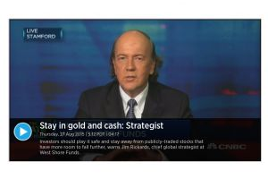 jim rickards - stay in gold and cash