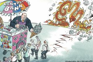 central banks can�t save the markets from a crash. they shouldn�t even try