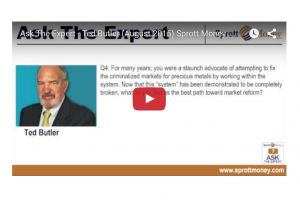 ted butler on jpm cornering the silver market