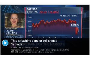the bull market is over - louise yamada